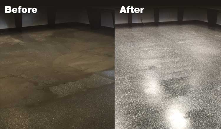 Ceramic Concrete Marble Floor Cleaning